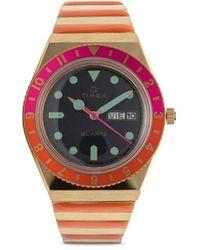Timex Reloj Q Reissue Malibu de 38mm - Multicolor
