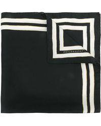 Philosophy Di Lorenzo Serafini - Stripe-trimmed Bandana - Lyst