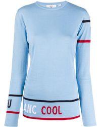 Rossignol Cool グラフィック インターシャ セーター - ブルー