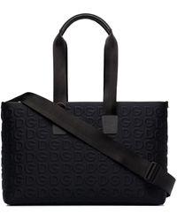 Dolce & Gabbana Дорожная Сумка С Тисненым Логотипом - Черный