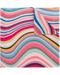 Paul Smith Wave Stripe Scarf - Многоцветный