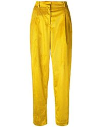 Mauro Grifoni - Loose Flared Trousers - Lyst