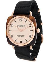 Briston Clubmaster Klassiek Horloge - Zwart
