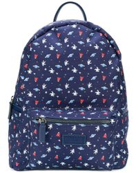 Fefe - Space Print Backpack - Lyst