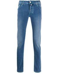 Jacob Cohen Acid Wash Jeans - Blue