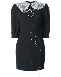 Cristina Savulescu - Laced Collar Dress - Lyst