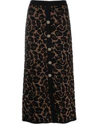 Temperley London Joanie ニットスカート - ブラック