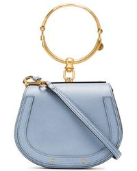 Chloé - Nile Small Leather Bracelet Bag - Lyst