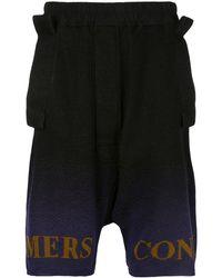 Bernhard Willhelm Mill Knit Shorts - Black