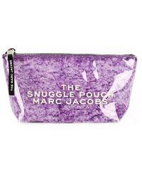 Marc Jacobs Trousse de maquillage Snuggle Pouch - Violet
