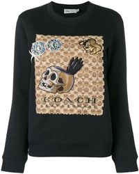 COACH - X Disney Signature Sweatshirt - Lyst