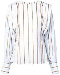 Jill Stuart - Striped Blouse - Lyst