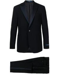 Polo Ralph Lauren ピークドラペル バラシアスーツ - ブルー