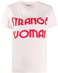 Stella McCartney - Футболка С Принтом Strange Woman - Lyst