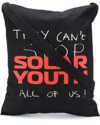 Raf Simons Сумка-тоут Solar Youth - Черный