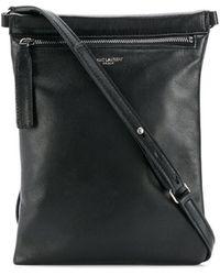 Saint Laurent Flat Crossbody Bag - Black