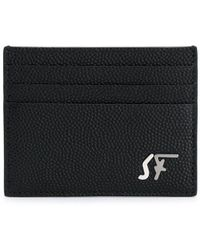 Ferragamo カードケース - ブラック