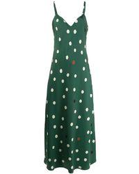 Chinti & Parker - ポルカドット ドレス - Lyst