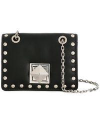 Sonia Rykiel - Studded Mini Flap Bag - Lyst