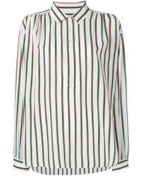 6403937d3e50a Lyst - Etro Vertical Striped Shirt in Black