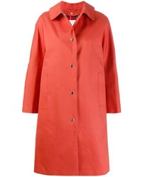 Mackintosh Fairlie Trenchcoat - Oranje