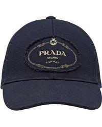 675a33ed862 Lyst - Bonnet en cachemire gris Prada pour homme en coloris Gris