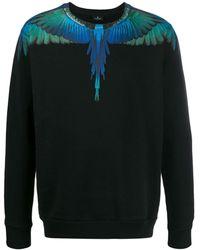 Marcelo Burlon Wings スウェットシャツ - ブラック
