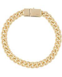 Tom Wood Rounded Curb Bracelet - Metallic