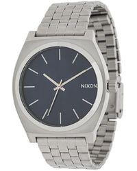 Nixon Time Teller Watch - Metallic
