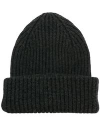 Roberto Collina - Classic Knitted Beanie Hat - Lyst