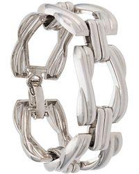 Dior Bracelet à maillons épais - Métallisé