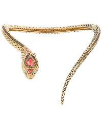 Roberto Cavalli - Snake Necklace - Lyst