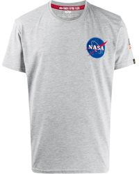 Alpha Industries - Space Shuttle Tシャツ - Lyst