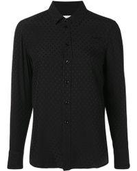Saint Laurent - Paris Collar Pineapple Shirt - Lyst