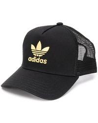 adidas Pet Met Geborduurd Logo - Zwart