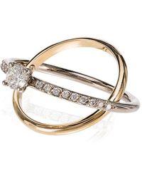 Charlotte Chesnais - Eclipse Diamond Ring - Lyst