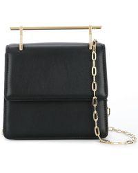 M2malletier - Strukturierte Handtasche - Lyst