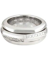 Piaget Possession ダイヤモンド リング 18kホワイトゴールド - マルチカラー