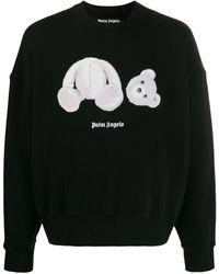 Palm Angels パッチ スウェットシャツ - ブラック