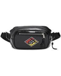 Burberry Logo Graphic Belt Bag - Black