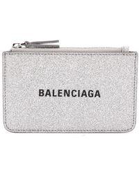 Balenciaga Everyday Pasjeshouder - Metallic