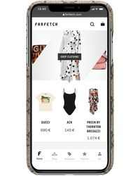 Gucci Чехол Ophidia Для Iphone Xs Max - Коричневый