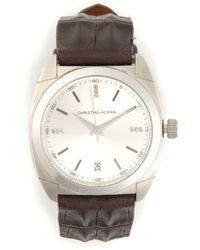 Christian Koban DOM' diamond watch - Marrone