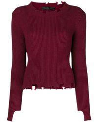 FEDERICA TOSI - Chewed Sweater - Lyst