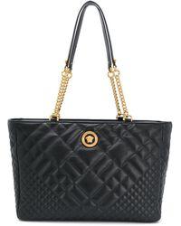 Versace メデューサ ハンドバッグ - ブラック