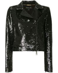 Rachel Zoe - Cassie Sequin Moto Jacket - Lyst