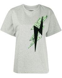 Isabel Marant グラフィック Tシャツ - グレー