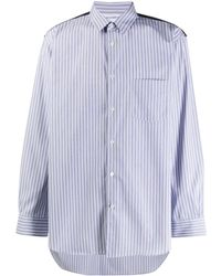 Comme des Garçons - パネル ストライプシャツ - Lyst