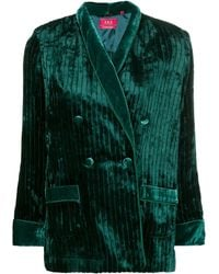 F.R.S For Restless Sleepers Double breasted jacket - Vert