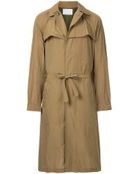 Kolor - Long Belted Trench - Lyst